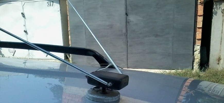 Антенна для автомагнитолы на крыше своими руками