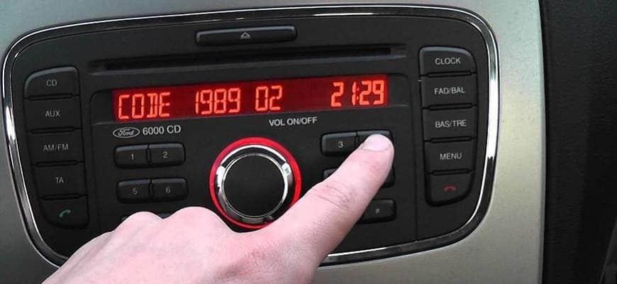 Как разблокировать магнитолу на Форд Фокус 2 самому