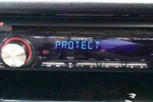 Что делать когда магнитола Kenwood пишет «Protect» или «No Support»