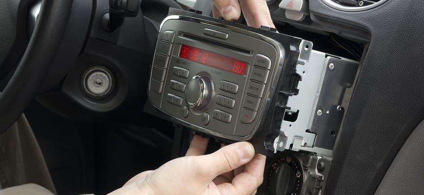 Как снять магнитолу машине Ford Focus 2