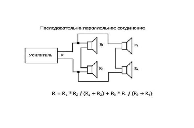 Схема последовательно-параллельного
