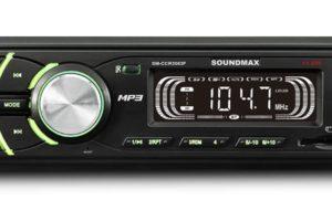 Автомагнитола Soundmax SM-CCR3053F Black подходит для использования в леворульных автомобилях