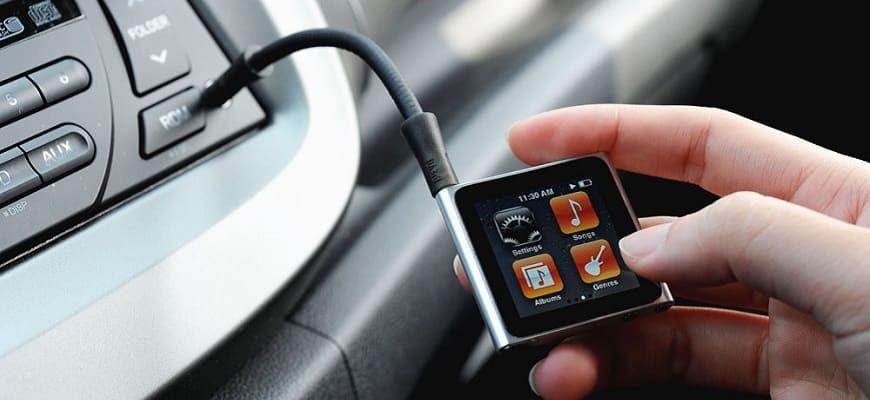 Как самому подключить флешку через AUX в машине