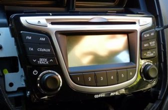 Как самому снять штатную магнитолу на Hyundai Solaris