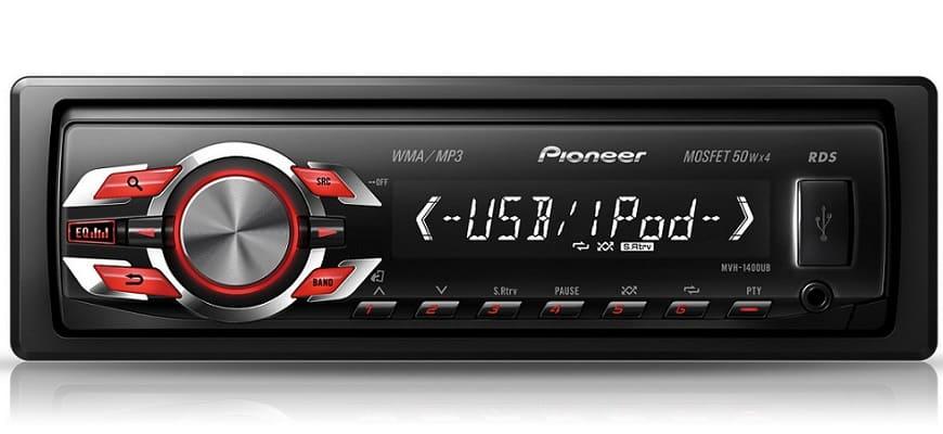 Магнитола 1 DIN Pioneer Mosfet 50Wx4