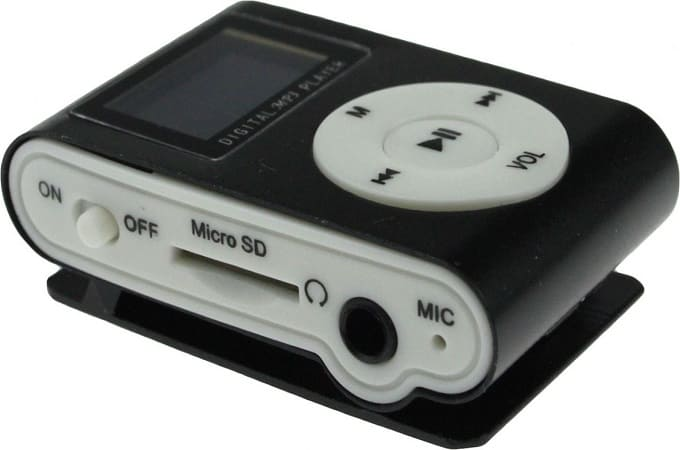МР3-плеер с поддержкой карты памяти
