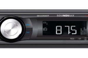 Как подключить и настроить автомагнитолу Soundmax SM-CCR3057F