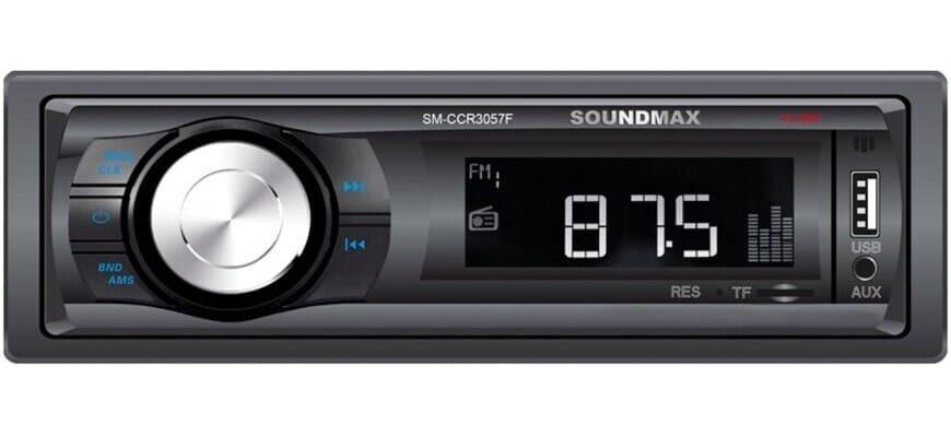 Soundmax SM-CCR3057F с FM-тюнером
