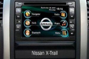 Установка и подключение магнитолы в Nissan X-Trail