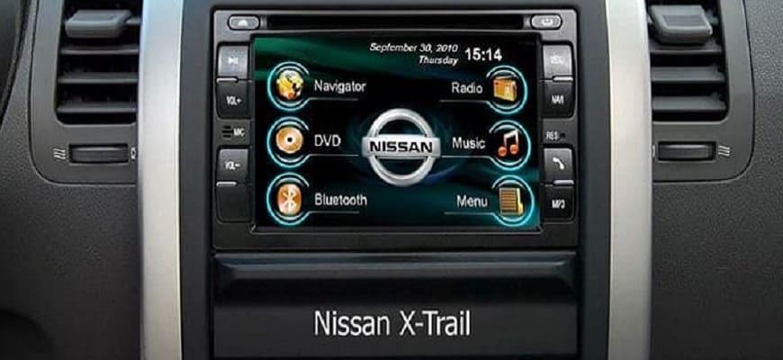 Установка магнитолы в авто Nissan X-Trail
