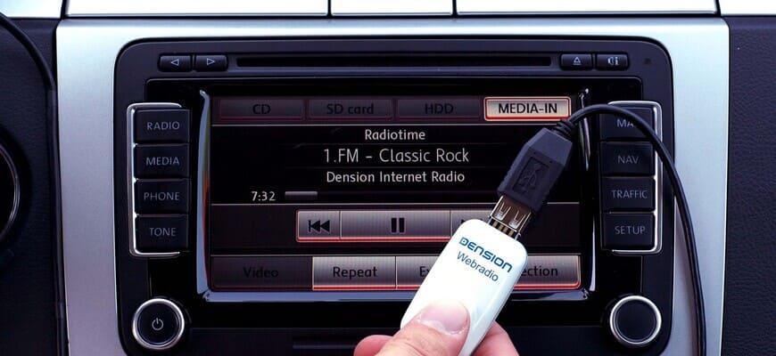 Флешка в авто для прослушивания музыки