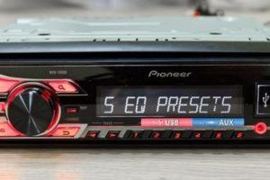 Магнитолы Pioneer MVH-150UB с хорошим качеством звука
