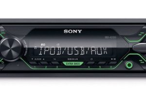 Автомагнитола Sony DSX-A212UI/Q с функцией Extra Bass