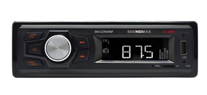 Автомагнитола Soundmax SM-CCR3056F с ISO-коннектором