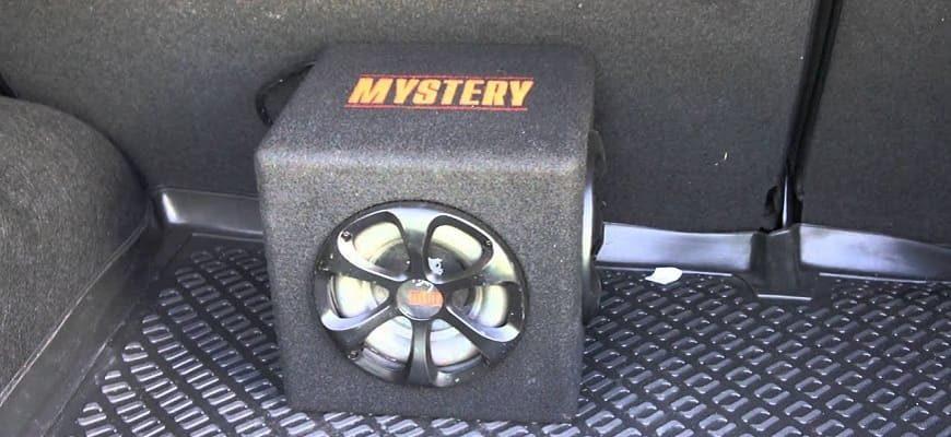 Как самому подключить сабвуфер Мистери в авто