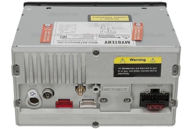 Подключение магнитолы Mystery MDD-6270NV