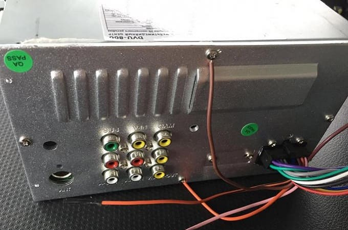 Подключение Prology DVU-800