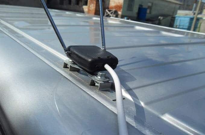 Самодельная ТВ антенна в авто