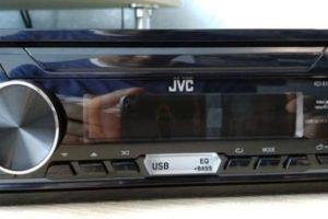 Инструкция по эксплуатации автомагнитолы JVC KD-X155