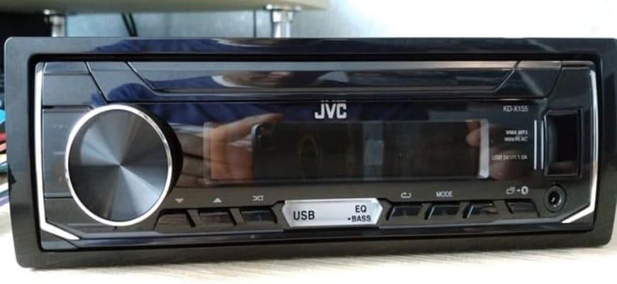 Автомагнитола JVC KD-X155 с USB-разъемом