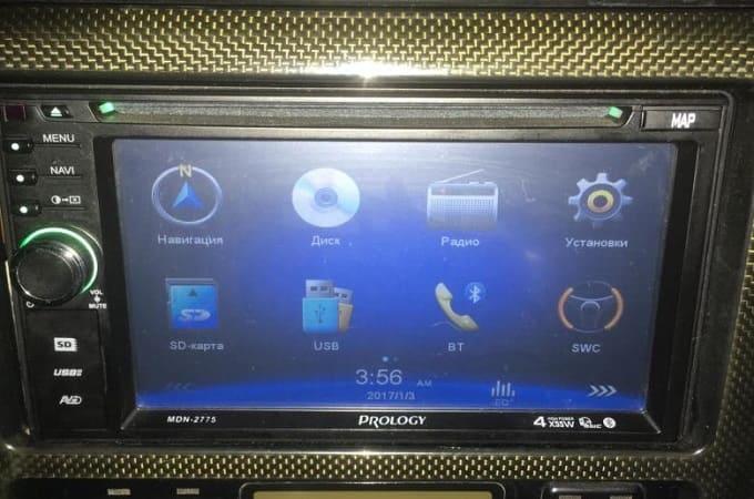 Автомагнитола Prology MDN-2775 в авто