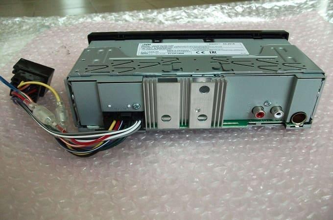 JVC KD-X155 с проводами