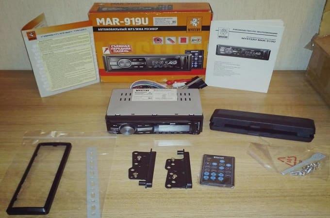 Комплектация Mystery MAR-919U