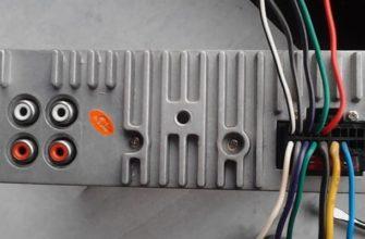 Распиновка разъемов автомагнитолы в машине