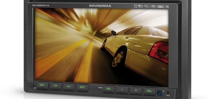 Автомагнитола Soundmax SM-CMMD6511G с TFT экраном