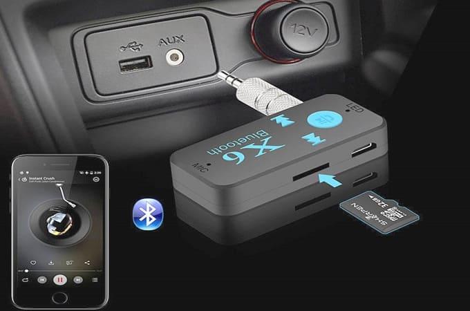 Bluetooth выступает посредником между смартфон