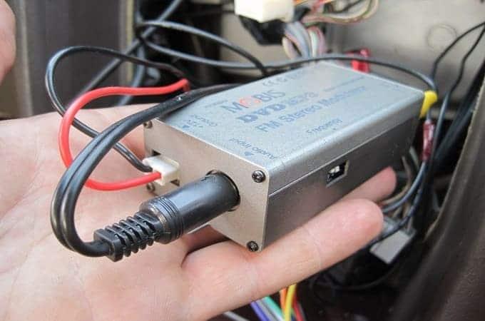 Подключение через модулятор