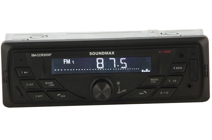 Soundmax SM-CCR3058F с яркой подсветкой