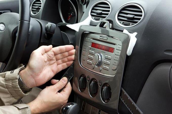 Установка магнитолы в авто