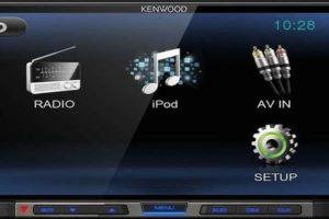 Технические характеристики USB автомагнитолы Kenwood DMX-100 c встроенным монитором