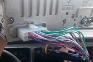 Инструкция как подключить магнитолу Mystery и схема распиновки проводов