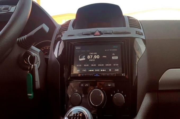 Kenwood DMX-100 в авто