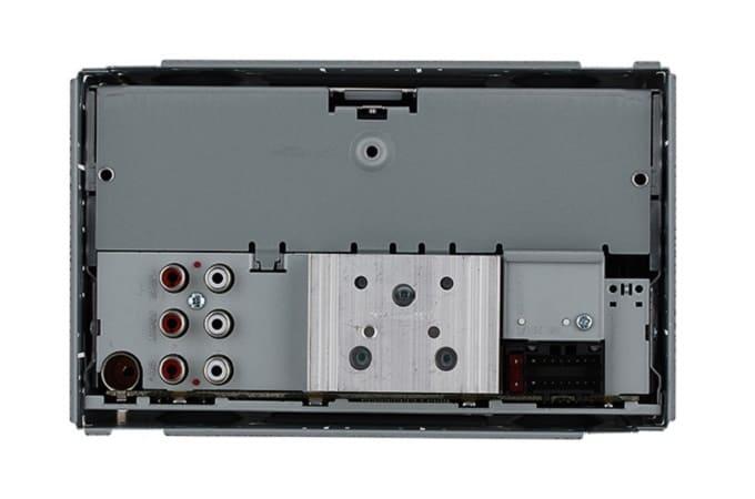 Магнитола JVC KW-X730 с обратной стороны