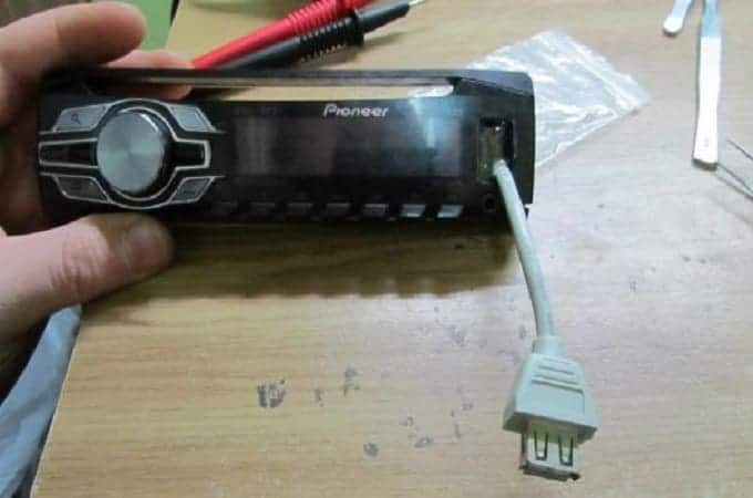 Неисправный USB-вход