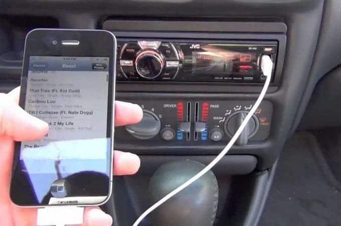 Самостоятельное подключение Айфона к магнитоле через через USB