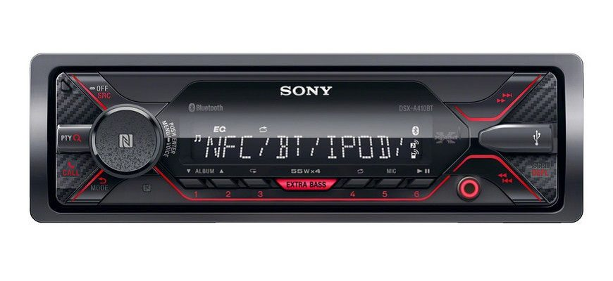 Sony DSX-A410BT с USB