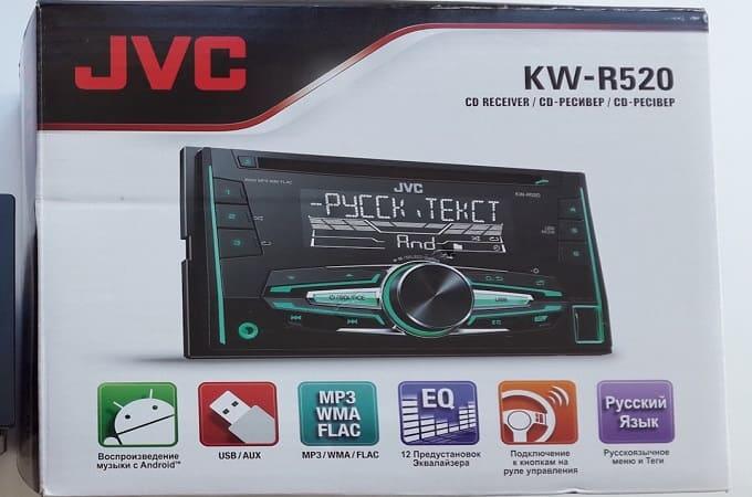 Коробка магнитолы JVC KW-R520