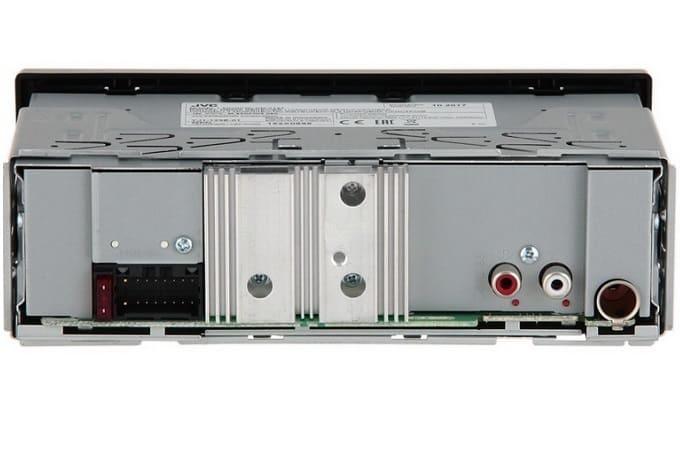 Магнитола JVC KD-X151 сзади