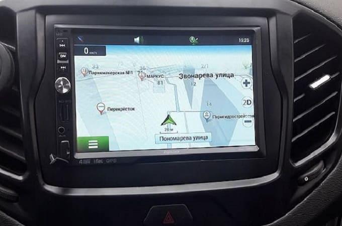 Магнитола Prology DNU-265 в автомобиле