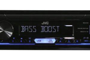 Автомагнитола JVC KD-X151 с поддерживанием ДУ на руле